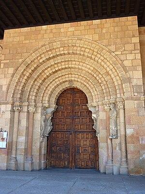 San Vicente de Ávila - Southern portal.