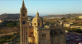 Basilica of the National Shrine of the Blessed Virgin of Ta' Pinu, Għarb, Gozo.png