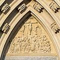 Basilika Mariazell Hauptportal Tympanon O 01.jpg