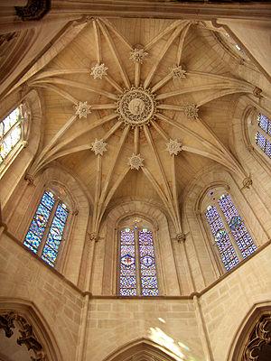 Huguet - The stellar vault of the Founder's Chapel
