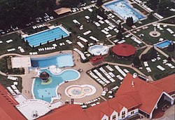 Bath and Spa from air in Kehidakustány1.jpg