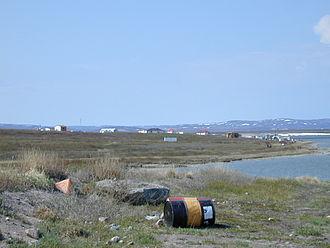 Bathurst Inlet, Nunavut - Image: Bathurst Inlet 1