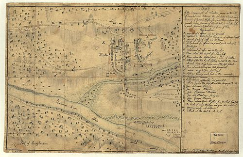The Hessian Sketch of the Battle of Trenton