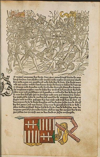 saxony battle scene