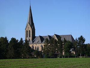 Bawinkel - church: Sankt Alexander Kirche