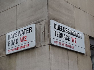 Design Research Unit - City of Westminster street name signs by Misha Black