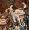 Bazille, Frédéric ~ La Toilette, 1869-70, Oil on canvas Musee Fabre, Montpelier.jpg