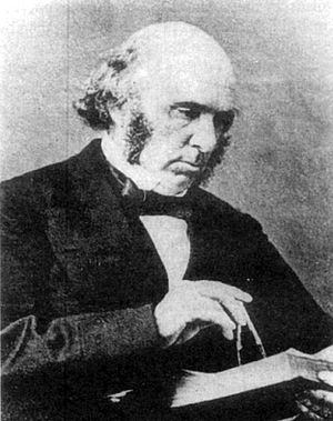 Nathaniel Beardmore - Beardmore from a pen and ink drawing circa 1862