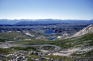 Red Lodge, Montana - The Beartooth Highway in the Beartooth Mountains