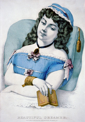 "Beautiful Dreamer - ""Beautiful Dreamer"" by Currier and Ives"