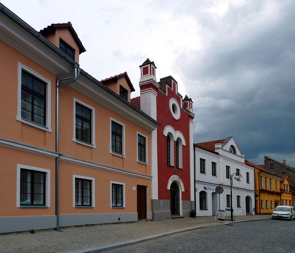 Bechyně - bývalá synagoga v Široké 02.jpg