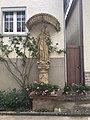 Beckstein Kleindenkmal 13 Barocke Statue der Muttergottes mit Kind.jpg