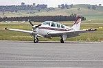 Beechcraft F33A Bonanza (VH-SIQ) taxiing at Wagga Wagga Airport (1).jpg