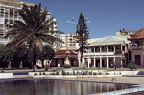 Im Stadtkern von Beira