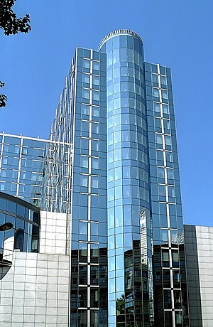 Espace Léopold - Altiero Spinelli building.