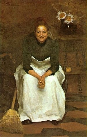 Belmiro de Almeida - Image: Belmiro de Almeida A tagarela, 1893