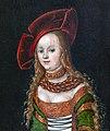 Bemberg Fondation Toulouse- Portrait de jeune fille - Lucas Cranach l'Ancien Huile sur panneau Inv.1016.jpg