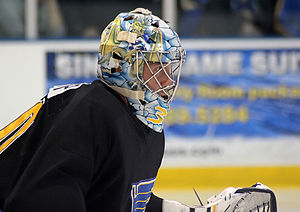 Ben Bishop - Bishop with the St. Louis Blues in 2011