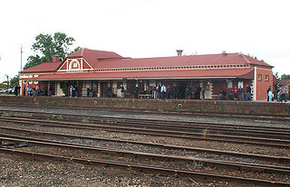Benalla railway station