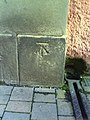 Benchmark on ^15 Pembroke Street - geograph.org.uk - 2060508.jpg