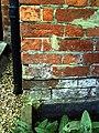 Benchmark on Kimber House, Cemetery Road - geograph.org.uk - 2094933.jpg