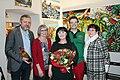 Benefiz. Werner Groiß, Karin Hauer, Georgia Kazantzidu, Matthias Laurenz Gräff, Pauline Uitz.jpg