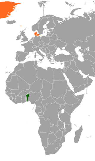 Diplomatic relations between the Republic of Benin and the Kingdom of Denmark