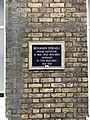 Benjamin Disraeli plaque on 6, Frederick's Place.jpg