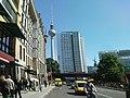 Berlin , Mitte , Alexanderplatz , fernsehturm - panoramio (2).jpg