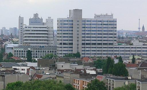 Berlin Bayer-Schering von der Humboldthöhe