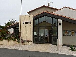 Bernac, Charente - Town hall