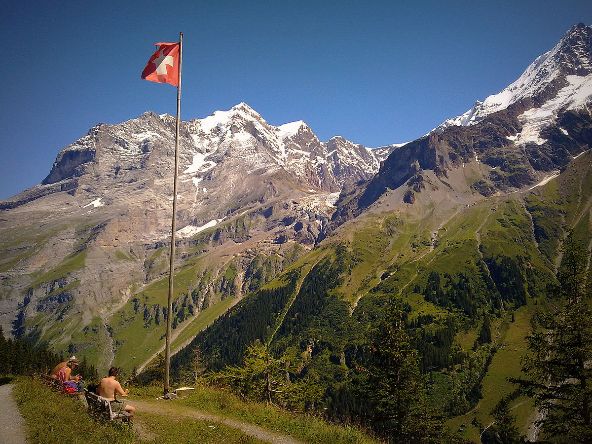 Bernese Highlands - Wikipedia Bernese Alps, Switzerland