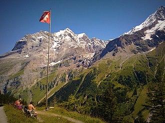 Bernese Highlands - Obersteinberg in the Berner Oberland