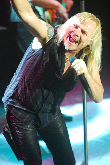 Bernie Shaw has been the singer of Uriah Heep since 1986. Bernie-Shaw.jpg