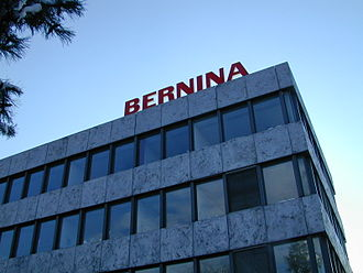 Steckborn - Bernina administration building in Steckborn