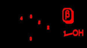 Epimer - Image: Beta D glucopyranose 2D skeletal