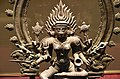 Bhadrakali, bronze, 14th century, Government Museum, Chennai (3) (23601025808).jpg