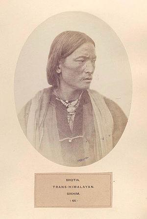 Bhotiya - Bhotia, trans-Himalayan, Sikhim