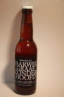 Bier 'Vaarwel Graaf zonder Hoofd' 02.jpg