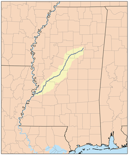 Big Black River (Mississippi) River in the US state of Mississippi