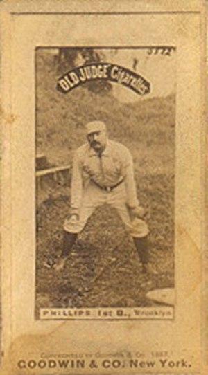 Bill Phillips (first baseman) - Phillips in 1887.