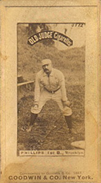 Bill Phillips (first baseman) - Phillips in 1887.