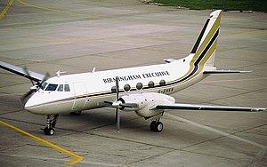 Birmingham European Airways - Grumman Gulfstream I