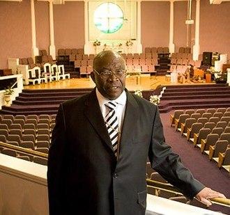 Ted Thomas Sr. - Image: Bishop Ted Thomas at New Community COGIC