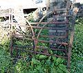 Blacksmith-made wrought iron gates, Hessilhead.JPG