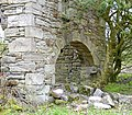 Blacksyke Tower south access, old engine house, Caprington, East Ayrshire.jpg