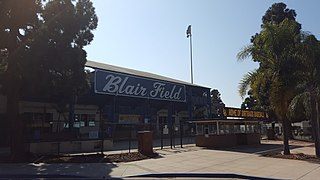 Blair Field Stadium in Long Beach, Califonia
