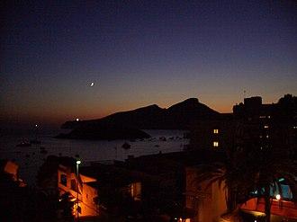 Dragonera - Image: Blick auf die Dracheninsel 2