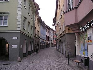 Die Innenstadt von Bludenz