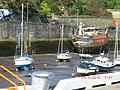 Boat stranded in Douglas Harbour - panoramio.jpg